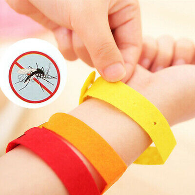 5/10Pcs Natural Mosquito Repellent Bracelet Anti Insect & Bug Protection Bands