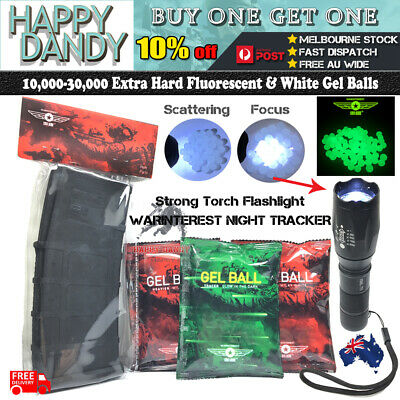 7-8mm Gel Balls Hard Fluorescent Warinterest Magazine Gel Blaster Night Tracker