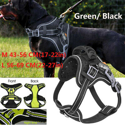 Tactical Dog Excursion Training Patrol No Pull Vest Harness Extra Large Medium