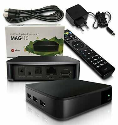 GENUINE INFOMIR MAG410 4K Android 48 Hour IPTV test - $79 00