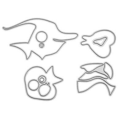 7pcs Fish DIY Embossing Metal Cutting Dies Stencils for Scrapbooking Mold #gib