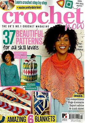 Crochet Now   Magazine  Issue 42.   2019.  No Free Gift.