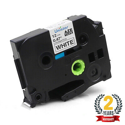 1PK P-TOUCH LABEL TAPE Compatible with BROTHER P-TOUCH TZ TZE231 TAPE 12MM White