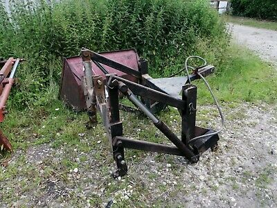 Power Harrow drill Linkage Kuhn Etc Piggy Back
