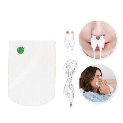 Nasal Allergic Nose Rhinitis Relief Treatment Laser Light Therapy MachineSet