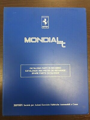 Catalogo Ricambi Originale/Spare Parts Catalogue Ferrari MONDIAL T del 1989
