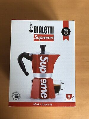 Supreme Bialetti Moka Express Red SS19