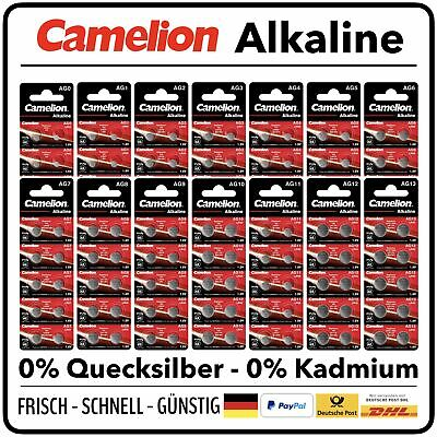 CAMELION Knopfzelle Silberoxid Auswahl 1,5V 393 396 377 392 364 379