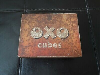 Vintage Collectable Oxo Tin (empty)