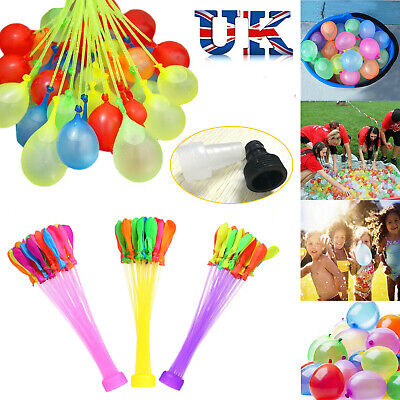 111-1110 PCS Fast Fill Magic Water Balloons Kids Summer Party Fun Toys Party *_*