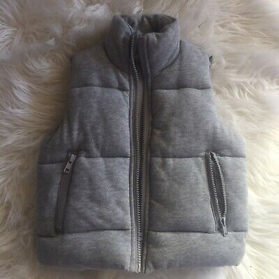 SEED  PUFFER VEST - Size 2 - unisex
