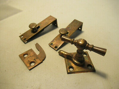 Window Hardware Latch Locks Old Vintage House Restore Parts Free USA Shipping
