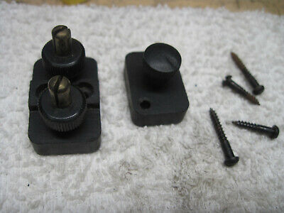 Singer Bentwood Case Controller Power Cord Male Push On Connectors 99 127 128