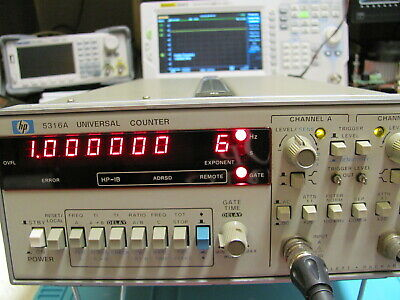 Hp Agilent Frequency Counter -- Hp 5316A