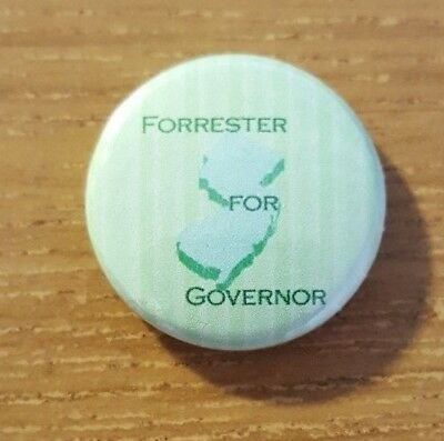 2005 (Doug) Forrester for Governor of New Jersey Campaign Button Republican