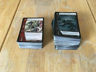 VS System TCG - Marvel superheroes - mixed lot of 284 RARE & PROMO cards