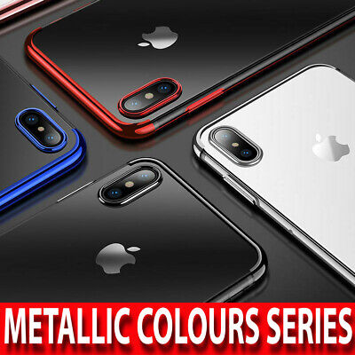 Case for iPhone XR XS MAX ShockProof Soft Phone Cover TPU Silicone Clear Bumper