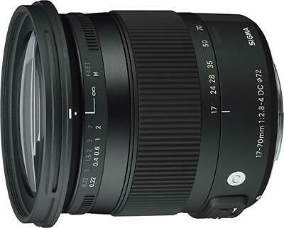 Mint SIGMA Contemporary 17-70mm f/2.8-4 DC Macro OS HSM Lens for SIGMA Mount SA
