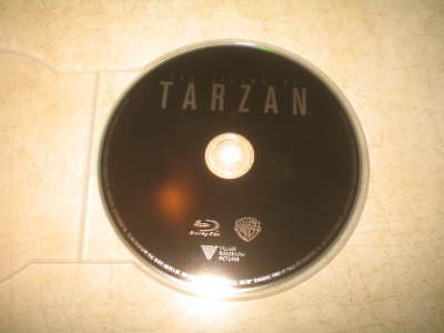 The Legend of Tarzan (Blu-ray, 2016, Can) - English/French/Span **DISC ONLY**