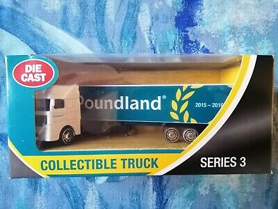 1:76 OO Gauge Poundland UK Stores Collectable Diecast Model Truck Lorry Series 3
