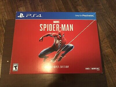 Marvel's Spider-man Collector's Edition PS4 Playstation 4 (Game Not Included)