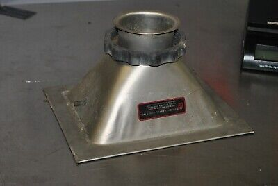 General Metal Works Thermo Anderson Graseby PM10 Inlet Sample Funnel air sampler