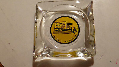 KEITHS MODEL T  TRUCK 40 WEST   CASINO glass ASHTRAY WINNEMUCCA