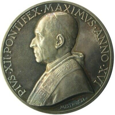 MEDAL - Pope Pius XII - Year XVI 1954 - VATICAN CITY - Anno Mariano  silver UNC