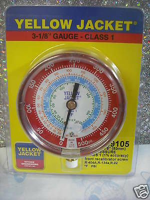 Gauge Refrigeration 3-1/8 R22,134a,404a, 0 to 500