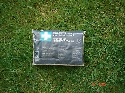 Mercedes W124 S124 TE Estate First Aid Kit