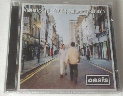 Oasis ‎– (What's The Story) Morning Glory? (Creation, 1995) CD album