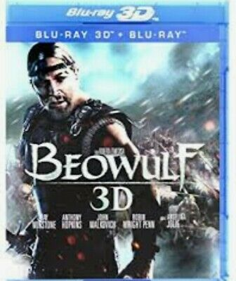 Beowulf 3d - 3d Blu ray - Polish release