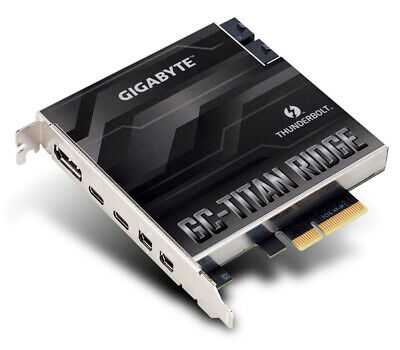 New  Gigabyte Gc-Titan Ridge Interface Cards/Adapter Mini GC-TITAN-RIDGE