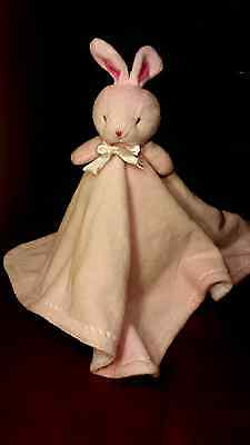 BABY BABY Lovey Pink Bunny Rabbit Security Blanket Soft Cuddly Childs Toy