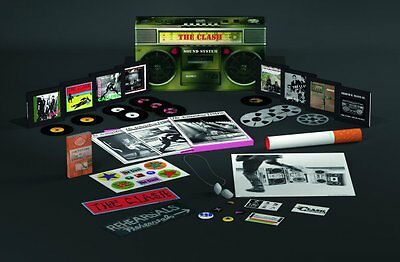 "The Clash ""Sound System"" Deluxe Box Set 11 Cd + 1 Dvd Neuf Emballe"