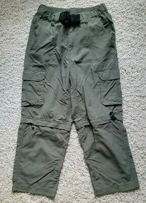 Boy Scouts of America BSA Official Uniform Switchback Pants Youth Size L Green