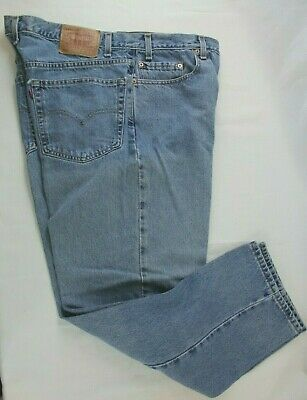 LEVIS 550 RELAXED Fit Mens Jeans Size 3829 Comfort Stretch