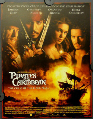 Pirates Of The Caribbean The Curse Of The Black Pearl 2003 11X14 Lobby Card Set
