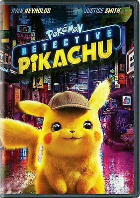 Pokemon: Detective Pikachu (DVD, 2019) FREE SHIPPING *AUTHENTIC*