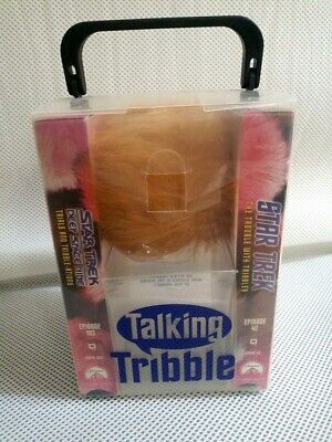 Star Trek Talking Tribble Vintage Toy with 2 VHS Tapes Episode 42 & 103 New