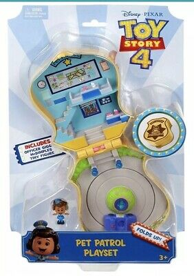Disney Pixar Toy Story 4 Pet Patrol Playset GIGGLE McDIMPLES Exclusive