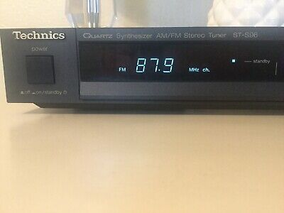 Vintage Technics ST-S96 Quartz Synthesizer AM/FM Stereo Tuner w/ Memory Function