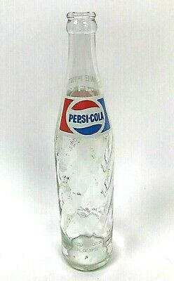 1978 Rare Pepsi Mirinda Bottle Green Swirl No Deposit 16 Oz Bird Swing Inside