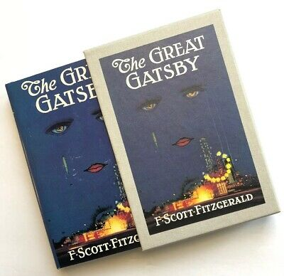 The Great Gatsby BEST Facsimile of 1925 First Edition, F.Scott Fitzgerald w/Case
