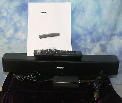 Bose Solo 5 TV Sound System - Bluetooth + Remote