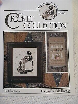 Cricket Collection 56 THE INHERITANCE leaflet Girl Quilt silhouette