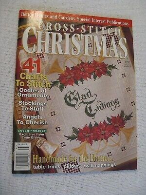 CROSS STITCH CHRISTMAS  41 Projects Better Homes & Gardens 1997 magazine