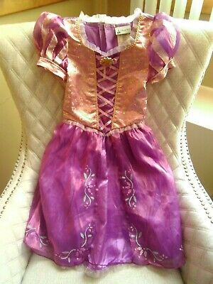 "Disney Theme Parks Rapunzel Princess Dress Costume Size Small ""S"" Excellent"