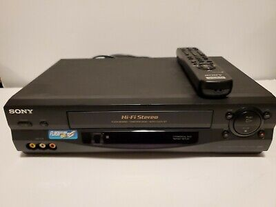 Sony SLV-N55 Video Cassette Recorder Fully Tested Great Working Condition