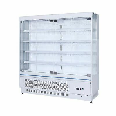 Multi-deck Open Chiller/ Super Market Showcase/ Cooling System Automaticn defros